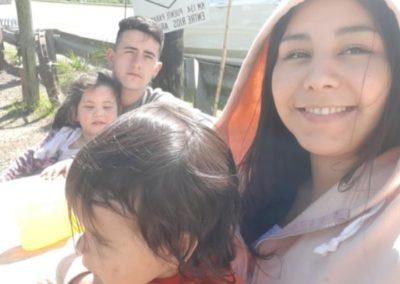 Ezequiel Zurueta y familia